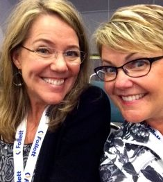 The Sisters learning together at ASCD - Happy Girls!